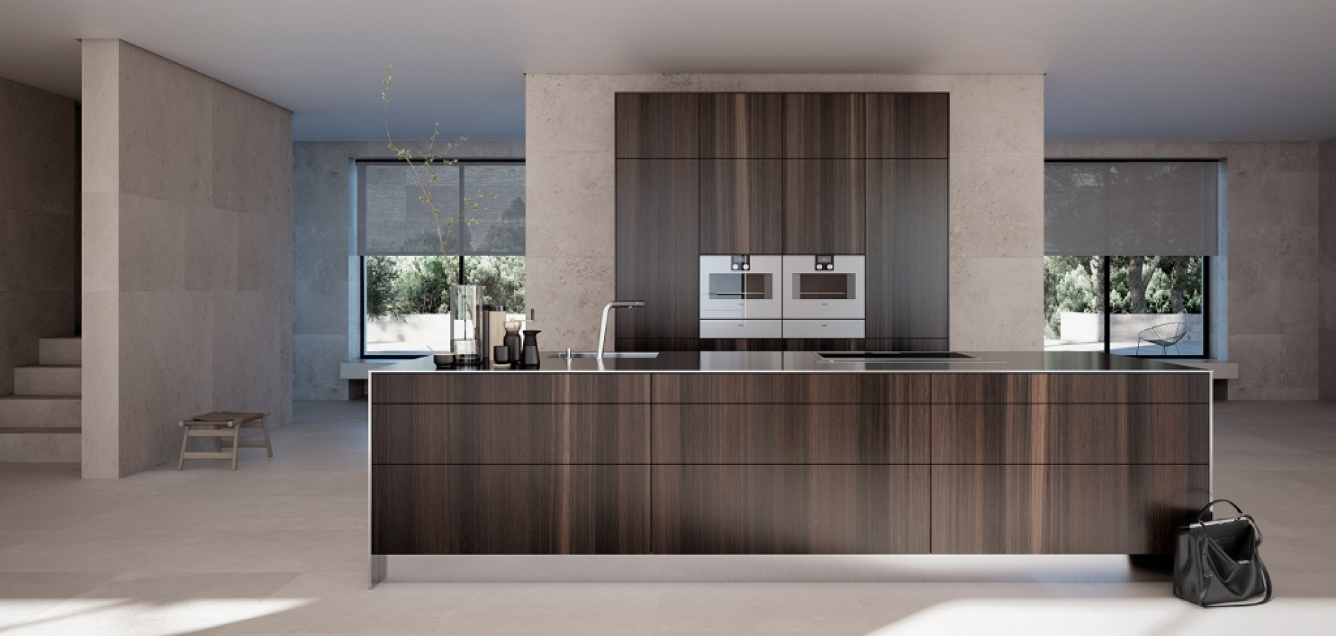 SieMatic natural veneers