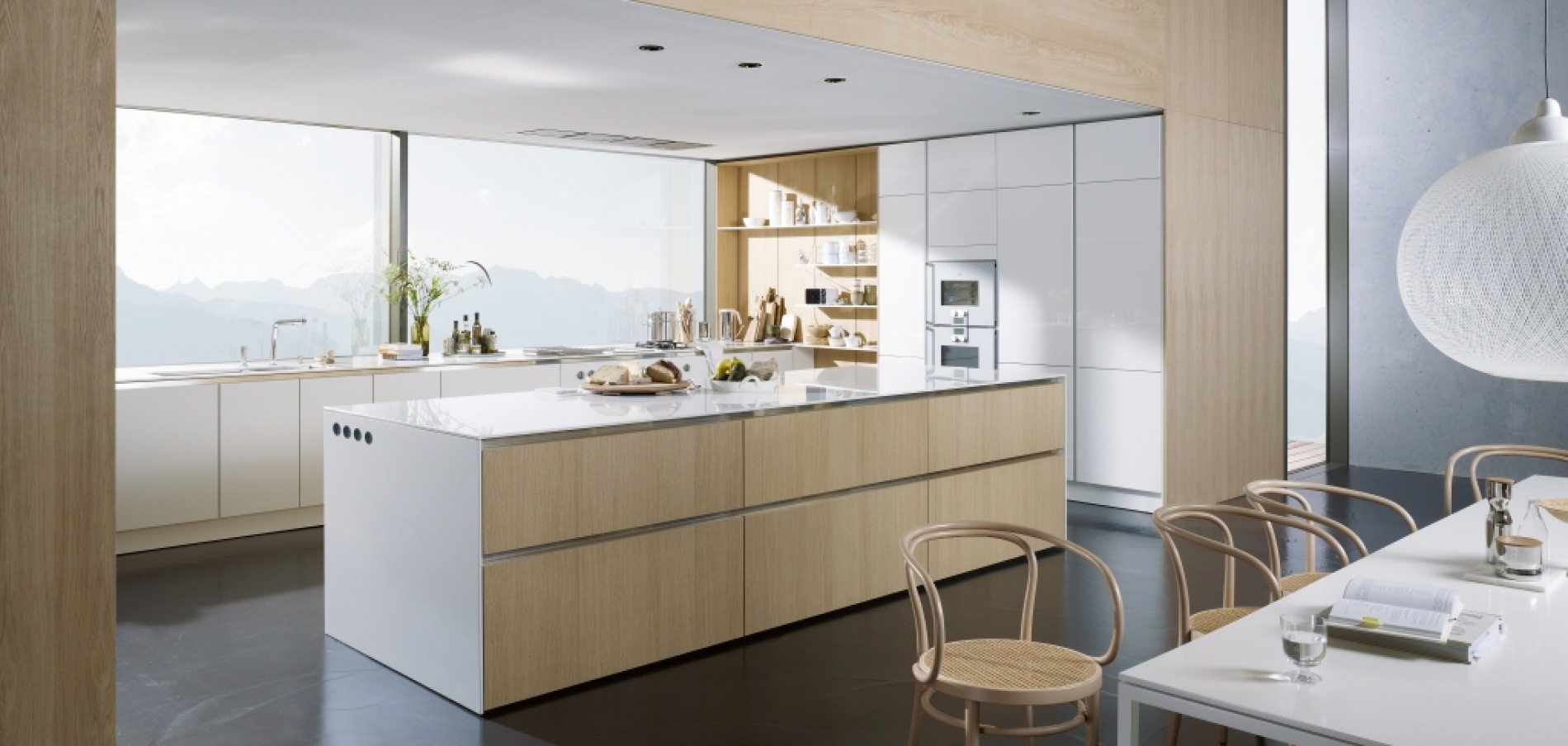 SieMatic floating spaces
