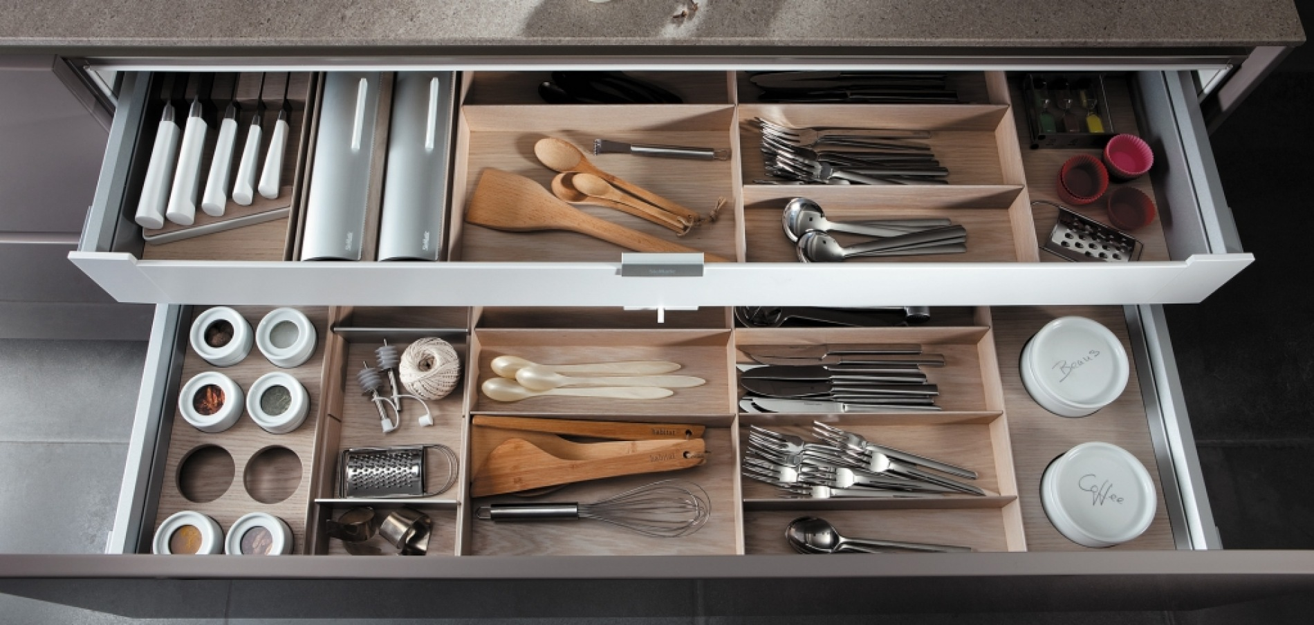SieMatic S2 new drawer accessories
