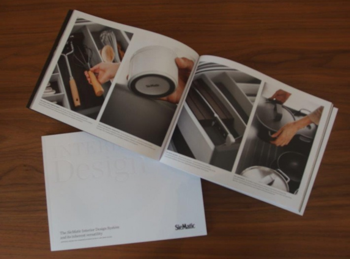 SieMatics' new interior brochure
